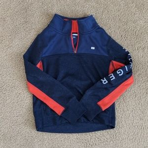 Tommy Hilfiger boys 1/4 zip pull over EUC